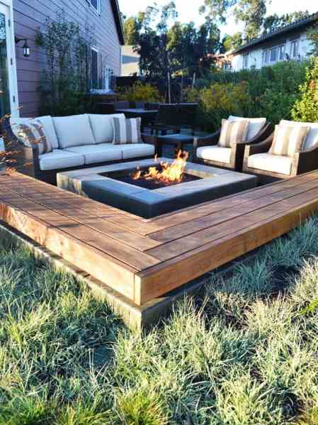 outdoor patio with fire pit designs Best Outdoor Fire Pit Ideas to Have the Ultimate Backyard