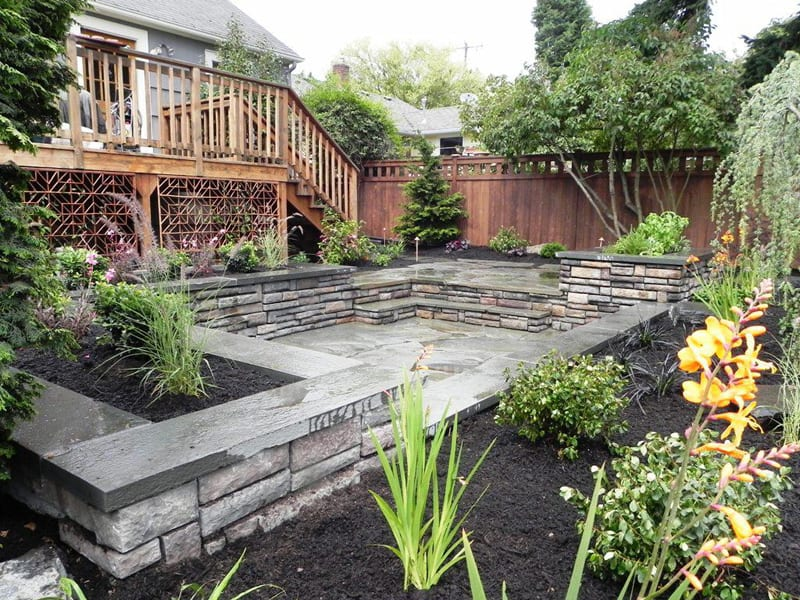 20 Cheap Landscaping Ideas For Backyard on Patio And Grass Garden Ideas id=14709