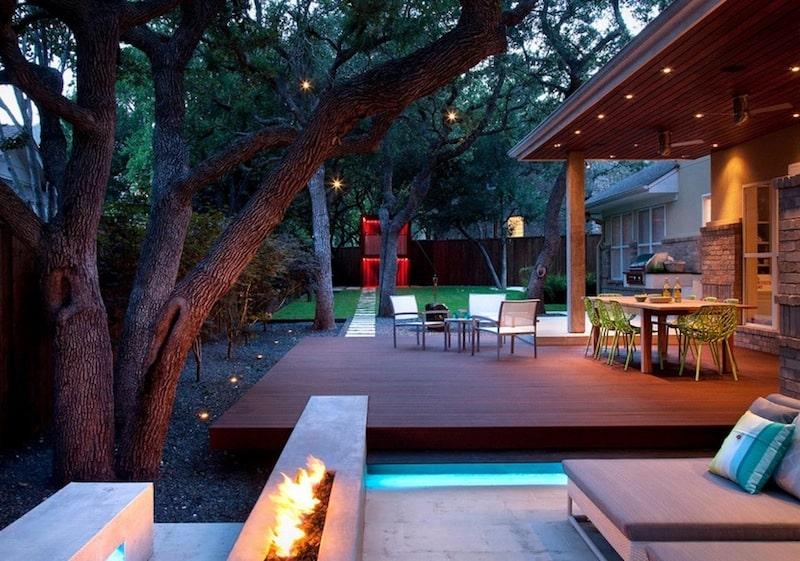 20 Cheap Landscaping Ideas For Backyard on Back Patio Landscape Ideas id=15573