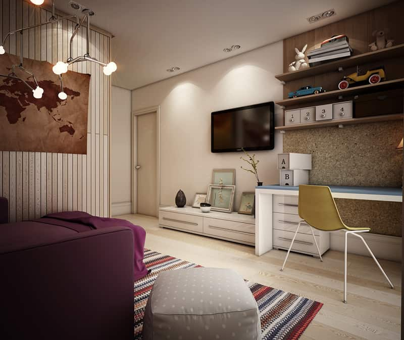 15 Funky Teen Bedrooms Design Ideas That Any Teenager Will ... on Room Ideas For Small Rooms  id=75031