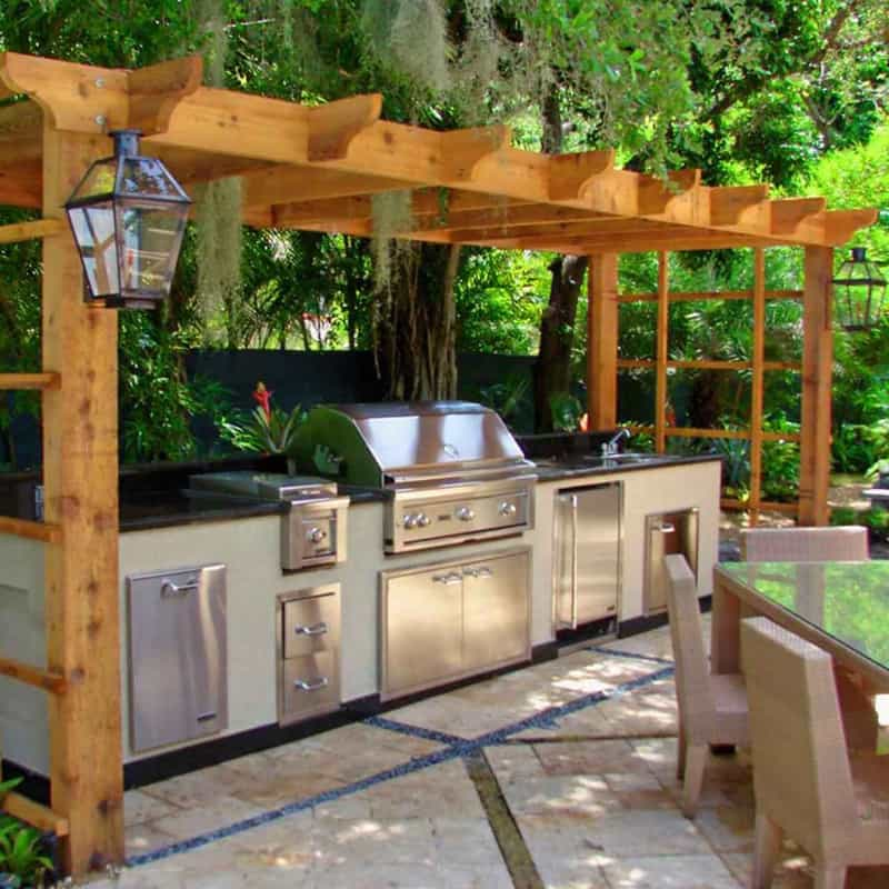 30 Outdoor Kitchens and Grilling Stations on Patio Grilling Area  id=78993