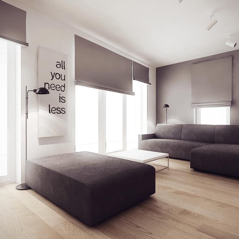 Energizing and Feminine: 5 Chic Studio Apartments with ... on Minimalist Room Design  id=59888