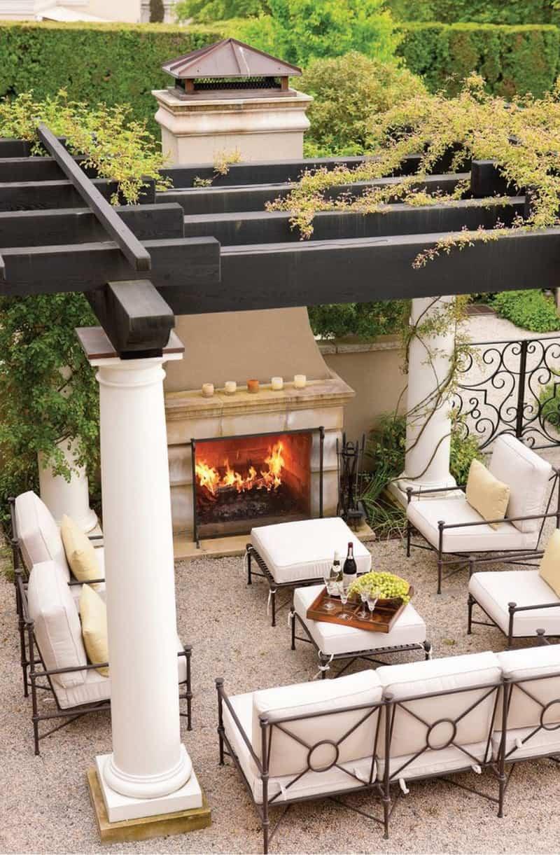 30 Lovely Mediterranean Outdoor Spaces Designs on Small Mediterranean Patio Ideas id=25543