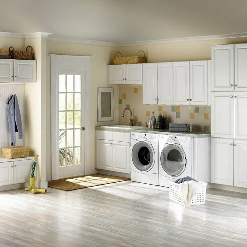 Brilliant Ways to Organize and Add Storage to Laundry Rooms on Laundry Decor Ideas  id=30232