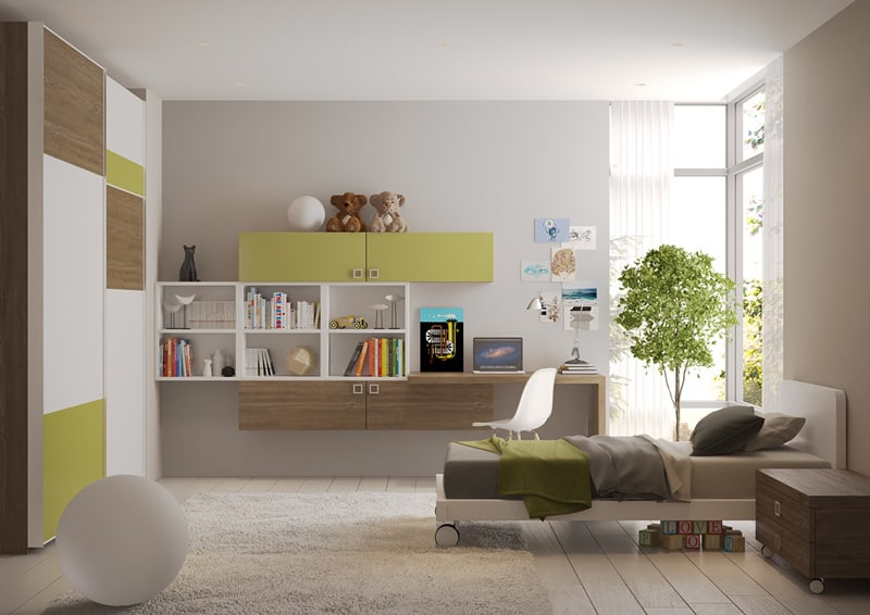 35 Colorful and Modern Kid's Bedroom Design Ideas