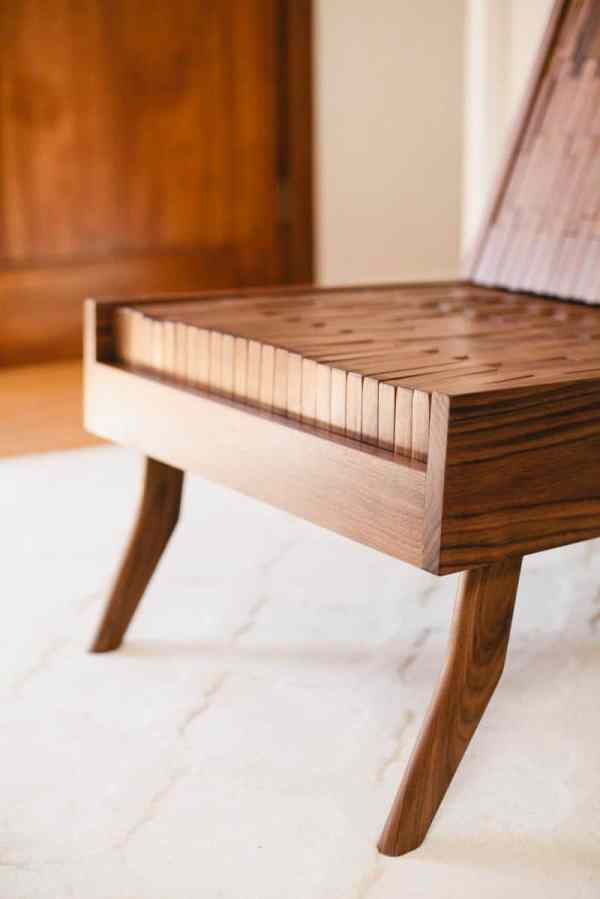 The Most Unique and Comfortable Wooden Bench from Sitskie