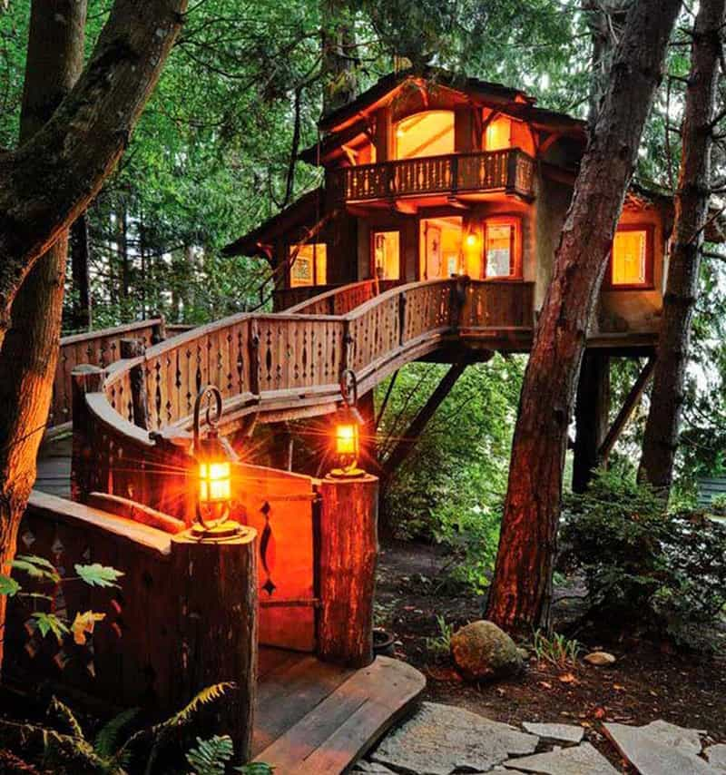 How to Build a Treehouse in the Backyard on Mansion Backyard Ideas id=76729