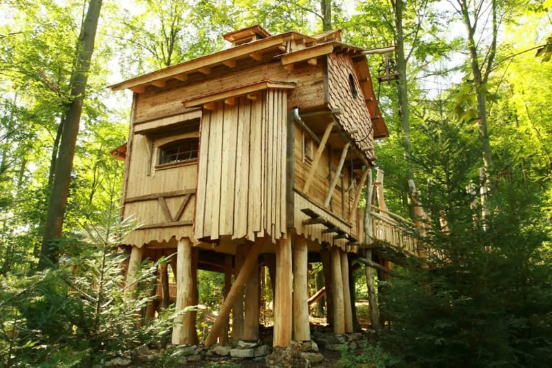How to Build a Treehouse in the Backyard on Mansion Backyard Ideas id=37192