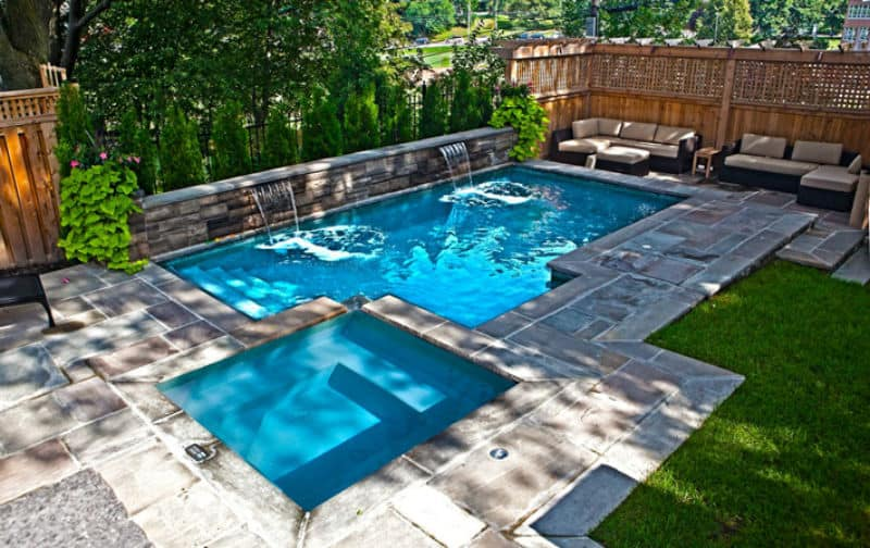 30 Small Pool Models Turn Your Courtyard Into A Paradise on Modern Backyard Ideas With Pool id=13559