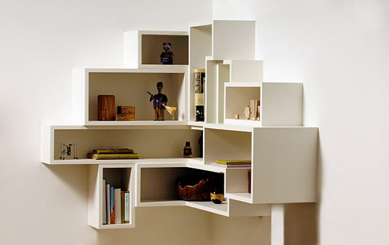 Built In Shelves Living Room