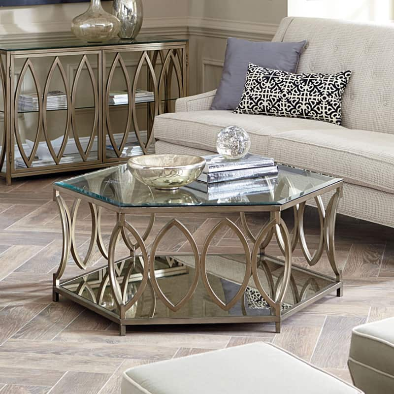 Hexagonal Coffee Table Honeycomb Table Amp Mirror Coffee