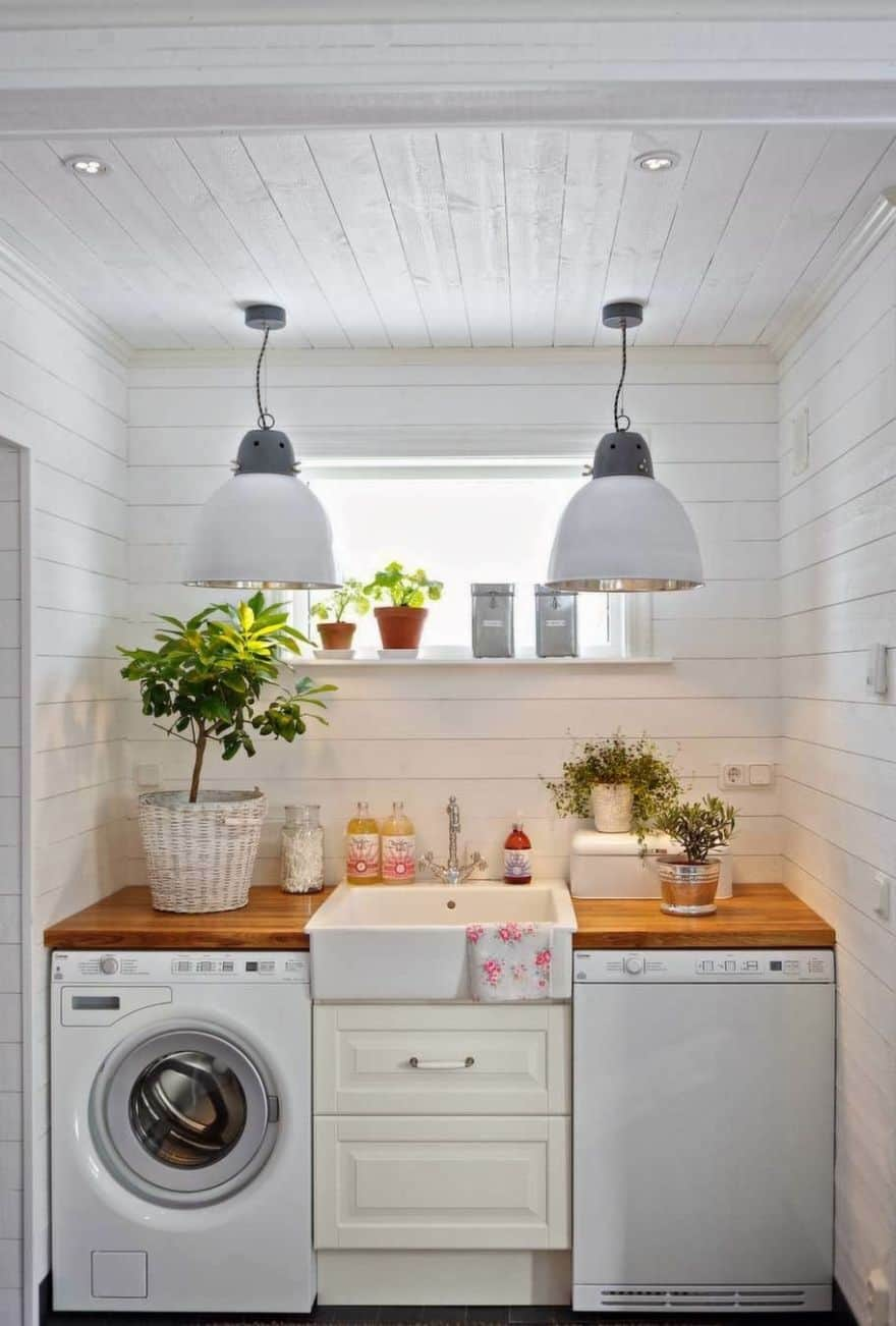 Clever Laundry Room Ideas to Inspire You on Laundry Room Decor Ideas  id=33043