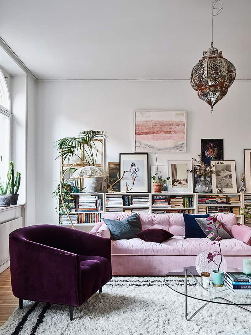 15 Crazy Ideas that Will Instantly Embellish Your Bohemian ... on Bohemian Living Room Decor Ideas  id=64321
