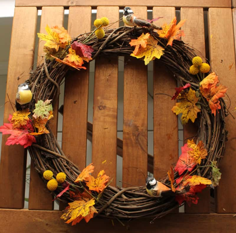 65 DIY Wreaths Made Of Unusual Materials To Inspire You on Vine Decor Ideas  id=96647