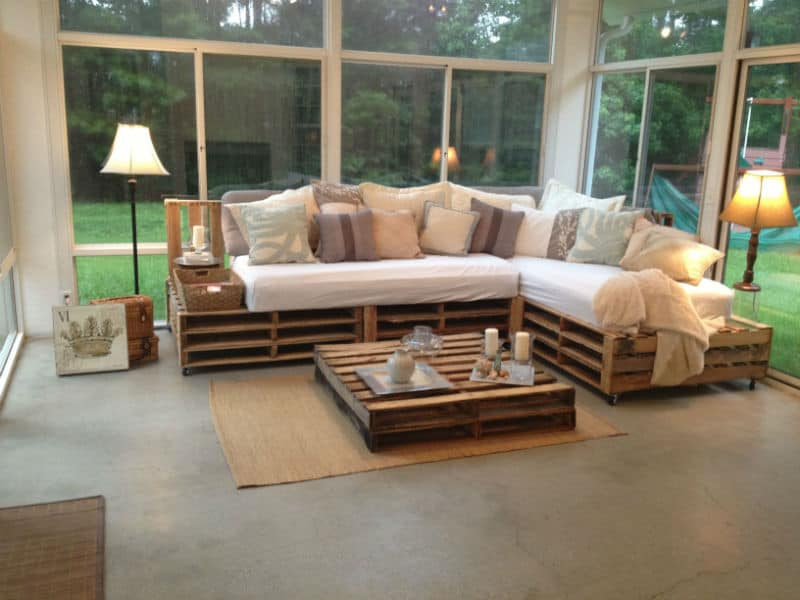 Unique Pallet Furniture Ideas for Your Home Or Patio on Pallet Design  id=58766