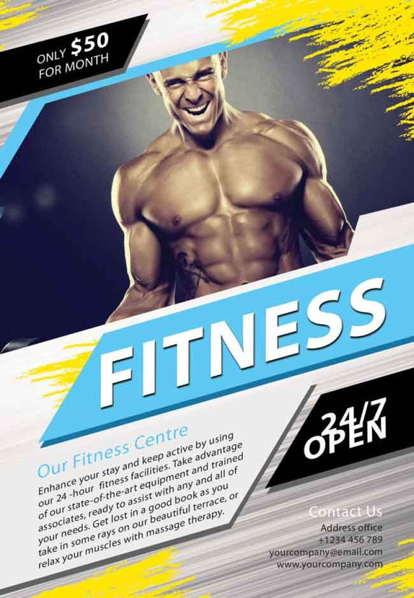 Fitness-Flyer-PSD-free
