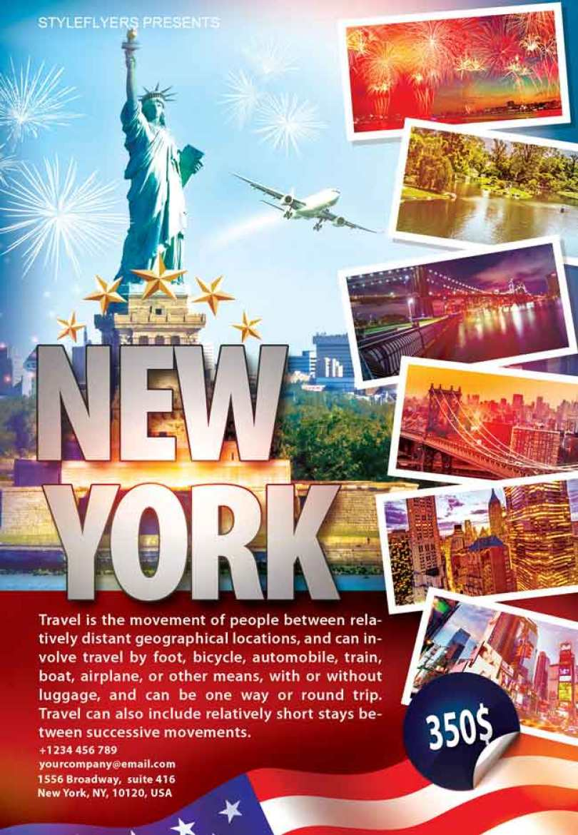 New-York-Flyer-PSD-free