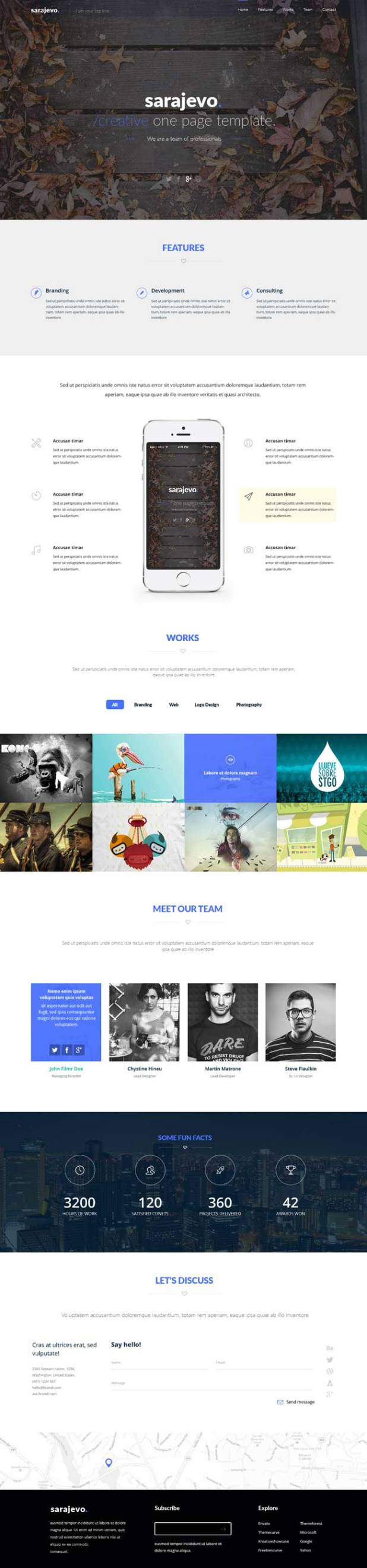 Sarajevo-Free-Clean-Landing-Page-PSD-Template-Preview