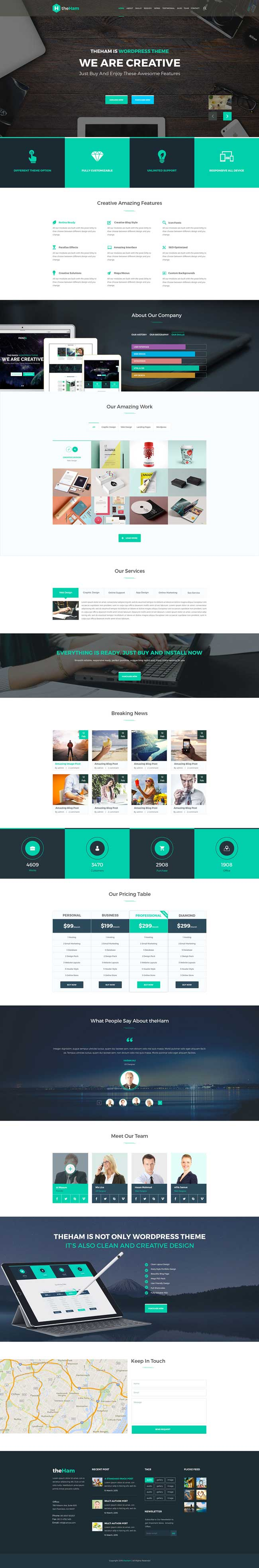 theHam-Free-Creative-Landing-Page-PSD-Template