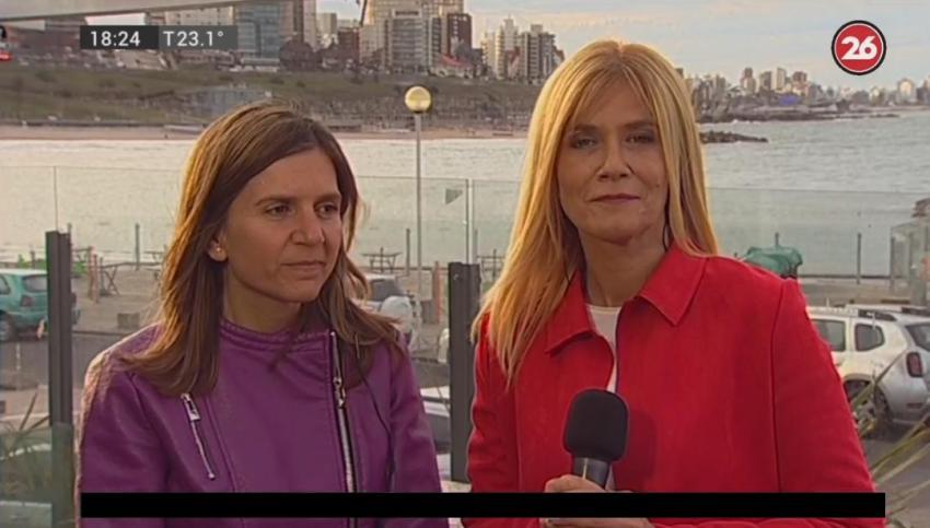 Magario en Mar del Plata: