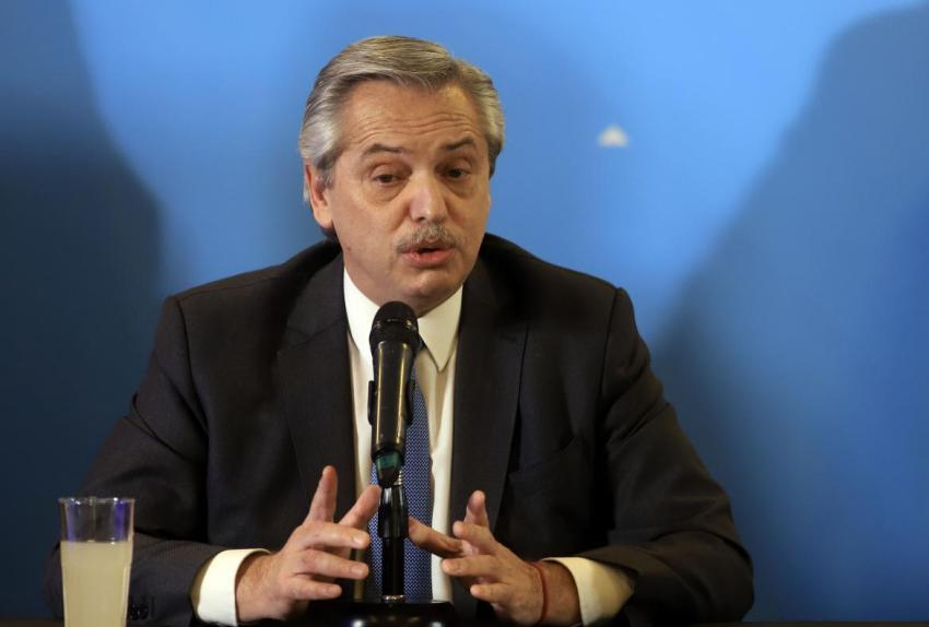 Alberto Fernández confirmó que una misión del FMI llegará en los próximos días al país