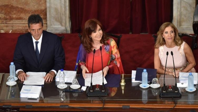 Cristina Kirchner dio inicio el 138° período de sesiones ordinarias
