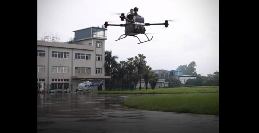 VIDEO: este minihelicóptero facilitará las tareas de rescate en China