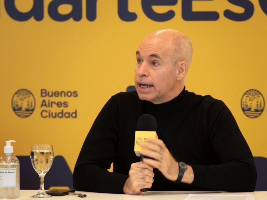 """Rodríguez Larreta: """"Cada día hay más riesgo de que 6000 chicos ya no vuelvan a la escuela"""""""