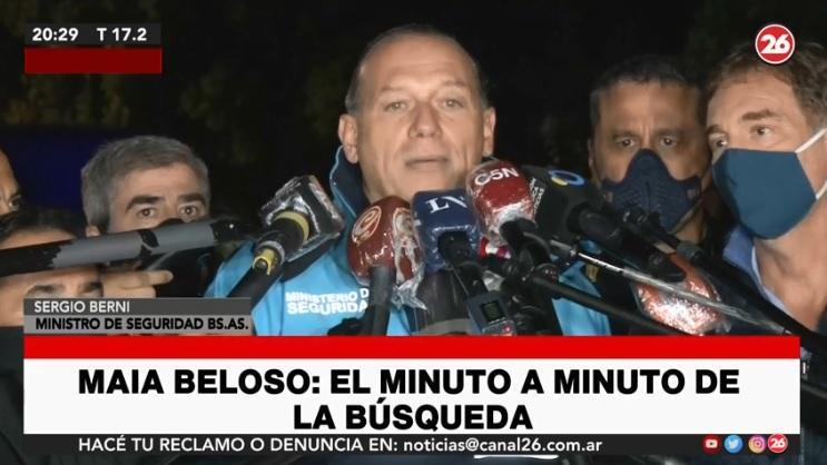 Búsqueda de Maia: los operativos se centran en Luján luego de que se encontrara la bicicleta del sospechoso