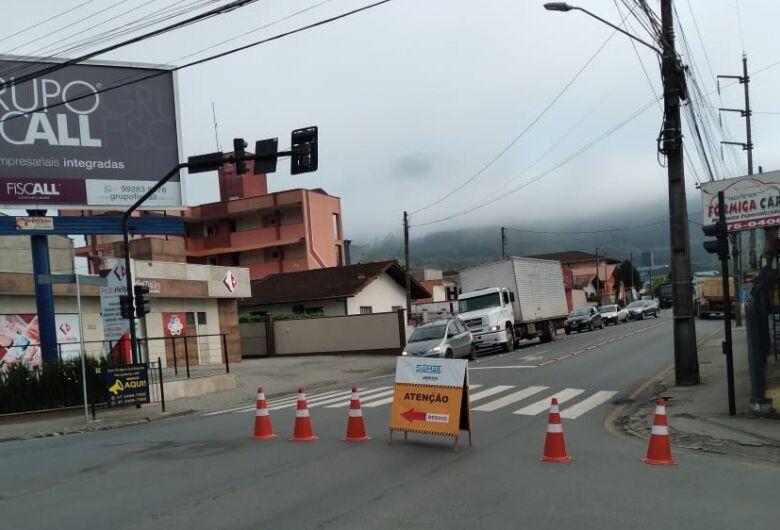 Rua Carlos Eggert partially banned this Friday