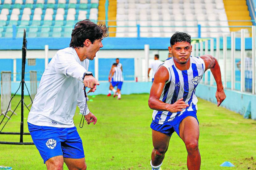 Comissão técnica vai pegar pesado durante a preparação bicolor para o time chegar bem na estreia do Estadual