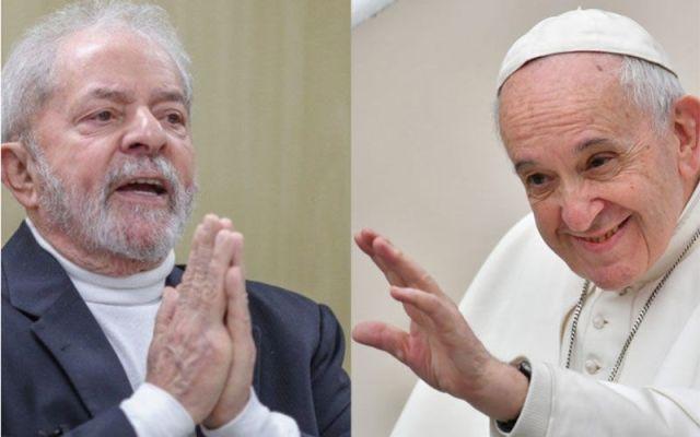 Resultado de imagem para Lula viaja para visitar o papa Francisco