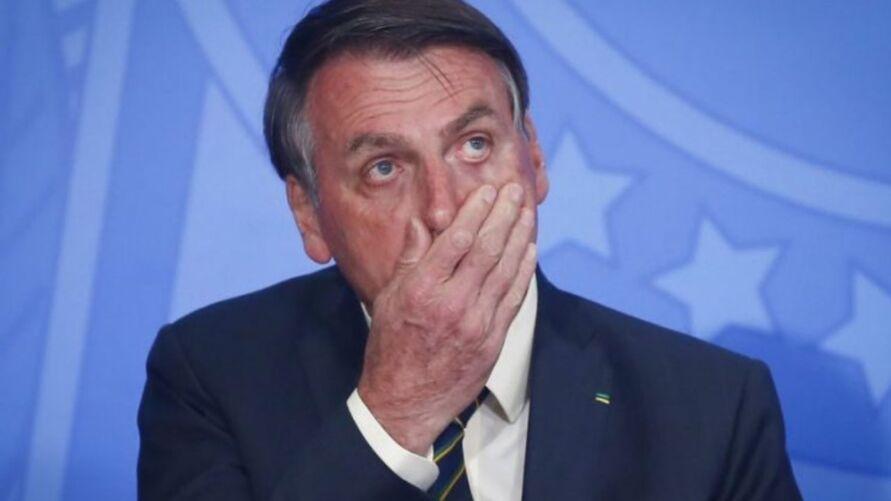 Presidente Jair Boslonaro testou positivo para Covid-19.