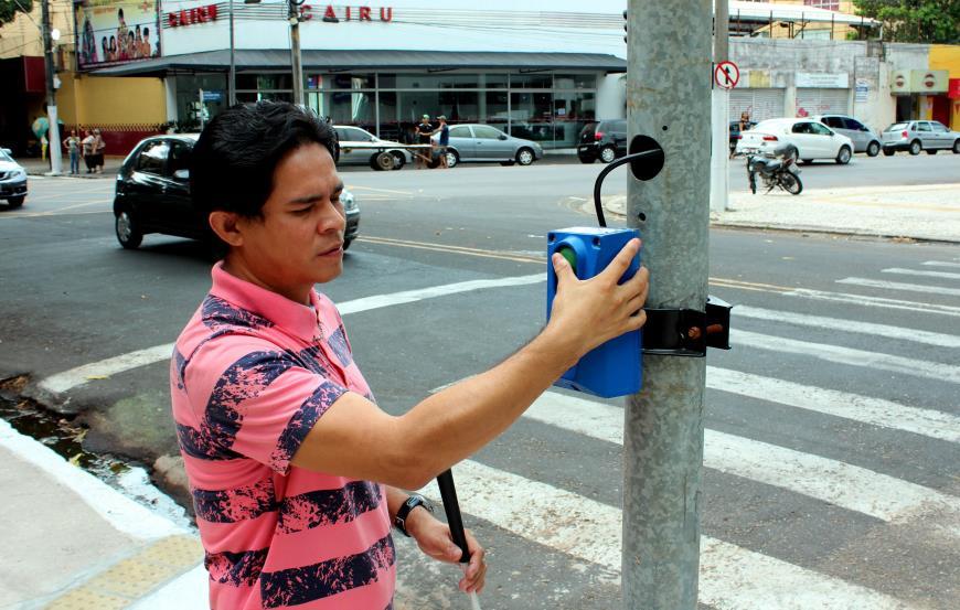 Nesta quarta, o primeiro semáforo desta nova etapa será instalado no cruzamento da avenida Visconde de Souza Franco com a travessa Ó de Almeida.