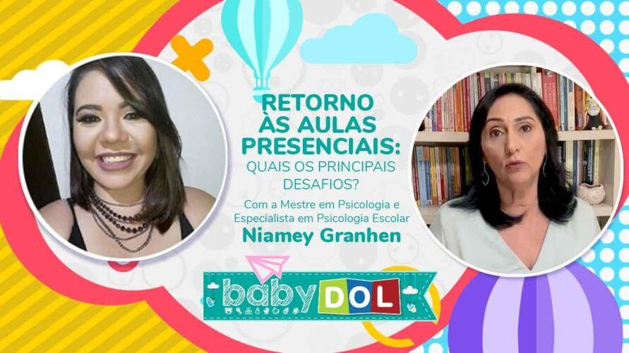 Especialista dá dicas de como os pais podem ir preparando os filhos para o retorno das aulas presenciais, principalmente na questão emocional dos pequenos.