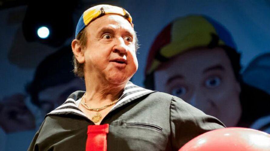 Carlos Villagrán como Kiko do seriado Chaves.