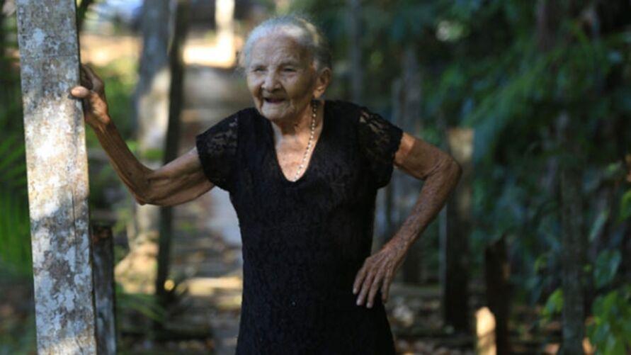 A idosa tinha dois filhos-netos, 5 bisnetos e 16 tataranetos.