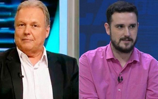 """Renato Maurício Prado criticou comentário de Raphael Rezende, que o rebateu chamando de """"gagá"""""""