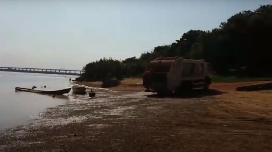 A Prefeitura Municipal de Marabá confirmou a veracidade do vídeo.