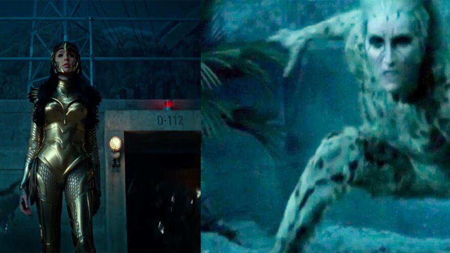 Mulher Maravilha1984 ganhou um trailer inédito no DC Fan Dome que revela o visual da Mulher Leopardo e dá um gostinho de como será o filme da heroína da DC.