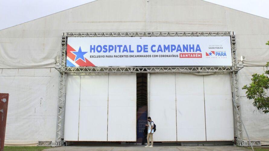 Hospital de Campanha de Santarém foi fechado após cumprir com objetivos de atender milhares de pessoas na região oeste do Pará