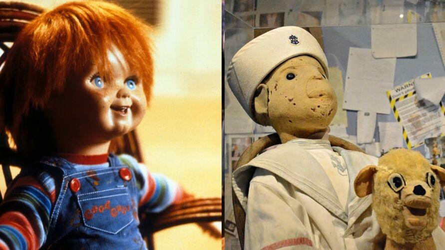 Parecido com a história de Chucky, Robert é um boneco real e supostamente amaldiçoado.