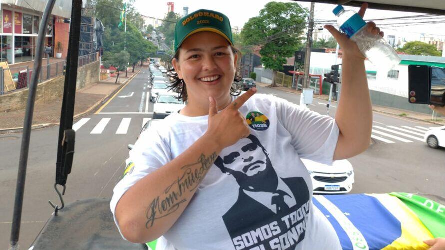 """""""Jessicão"""", que disputou a eleição pelo PP e venceu com 2523 votos"""