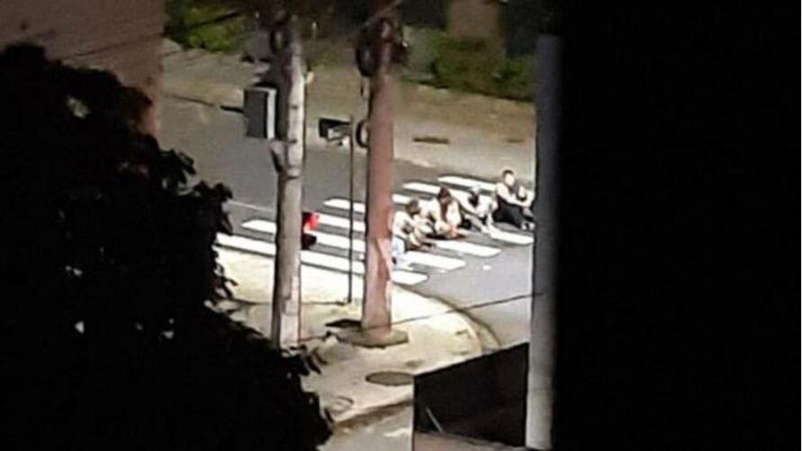 Os suspeitos foram presos na cidade de Passo de Torres (SC) e também em Porto Alegre