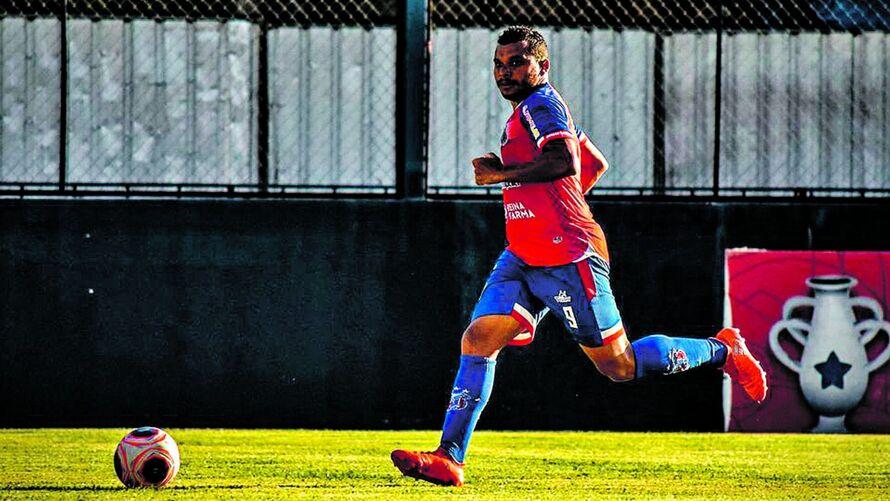 Canga é titular no ataque do Braga