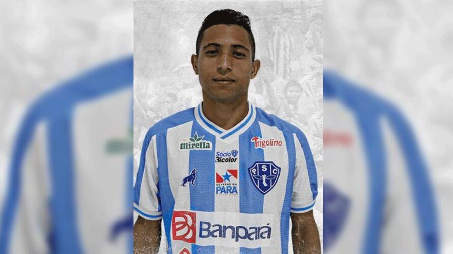 O atleta de 23 anos já está treinando com o Paysandu, 7° clube de sua carreira.