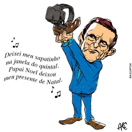 Imagem ilustrativa da notícia Sapatinho de natal