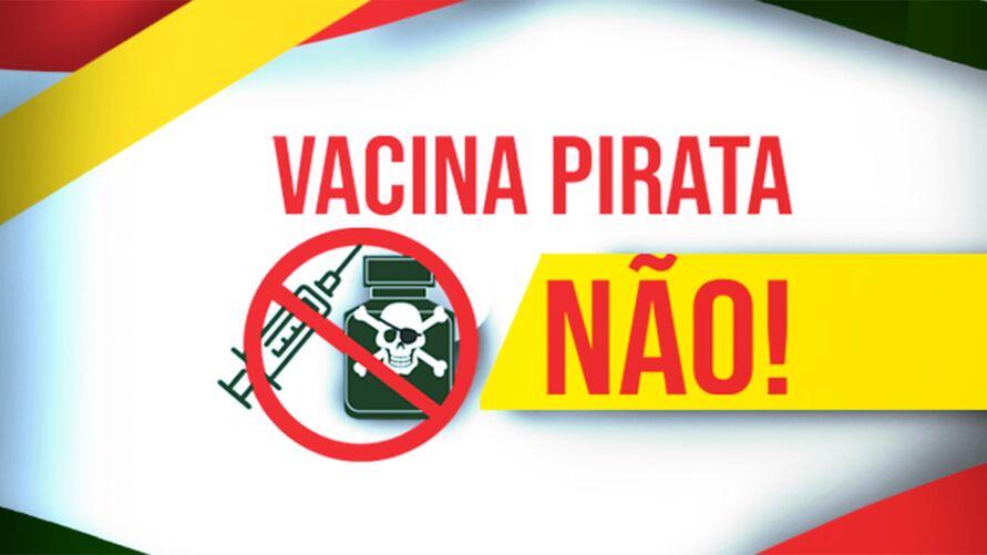 Imagem ilustrativa da notícia Governo lança campanha contra pirataria de vacinas