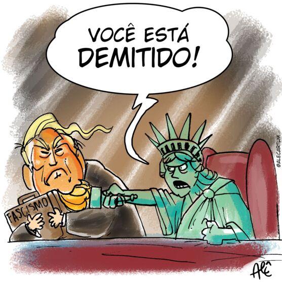 Imagem ilustrativa da notícia Demitido