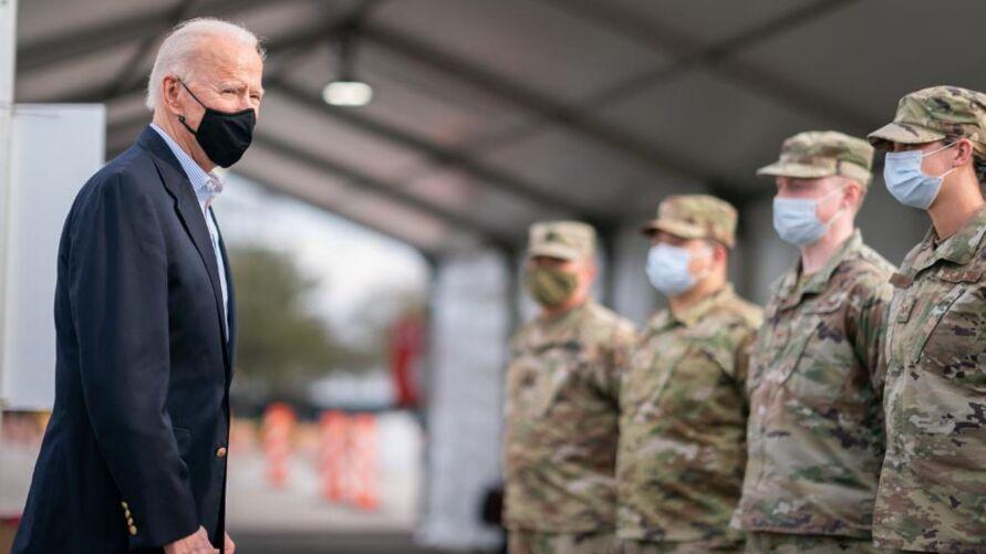 """Ele também usou as redes sociais para deixar claro a retirada das tropas e o término da """"longa guerra""""."""